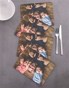 gifts: Personalised Photo Upload Placemat Set!
