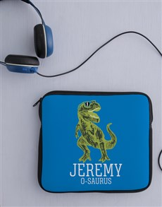 gifts: Personalised Neoprene Trex Tablet Cover!