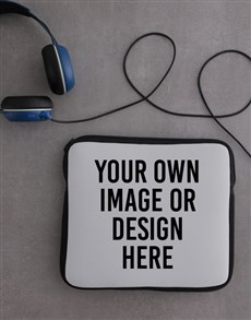 gifts: Personalised Neoprene Own Image Tablet Cover!
