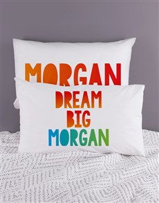 gifts: Personalised Dream Pillow Case Set!