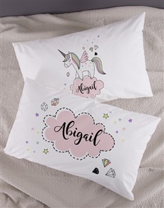 gifts: Personalised Unicorn Pillowcase Set!