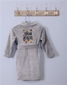 gifts: Personalised Emoji Pack Fleece Gown!
