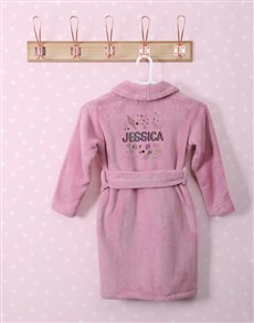 gifts: Personalised Icons Fleece Gown!