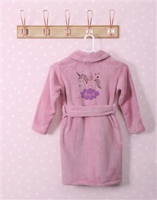 gifts: Personalised Unicorn Sparkle Fleece Gown!