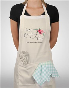 gifts: Personalised Best Grandma Ever Apron!