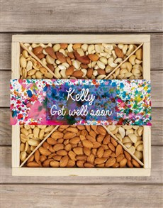 gifts: Personalised Paint Splatter Nut Crate!