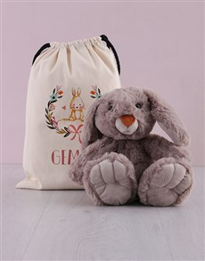 gifts: Personalised Bunny in a Bag Bundle!