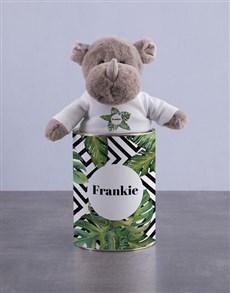 gifts: Personalised Rhino Tin!