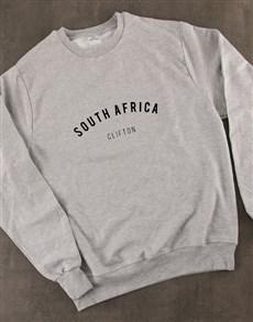 gifts: Personalised Place Ladies Sweatshirt!