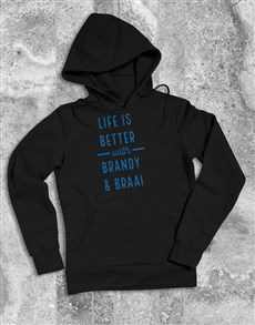 gifts: Personalised Life Is Better With Hoodie!