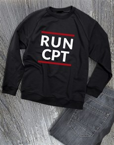 gifts: Personalised Modern Run Sweatshirt!