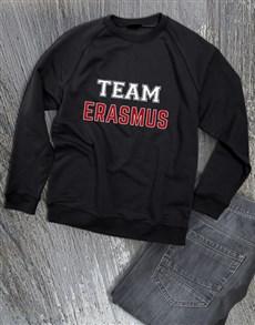 gifts: Personalised Sports Team Sweatshirt!