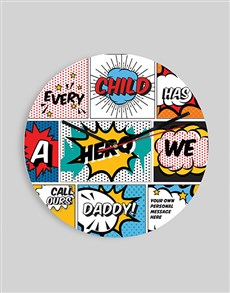 gifts: Personalised Comic Clock!