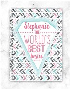 gifts: Personalised Bestie Notebook!