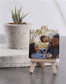 gifts: Personalised Family Mini Canvas !