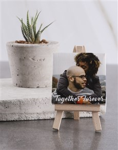 gifts: Personalised Together Forvever Mini Canvas!