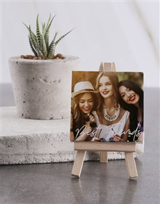 gifts: Personalised Best Friends Mini Canvas!