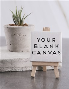 gifts: Personalised Blank Min Canvas !