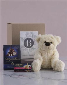 gifts: Personalised Teddy and Nougat Gift!