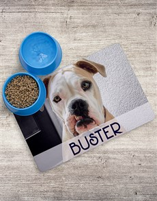gifts: Personalised Pooch Placemat and Bowls!