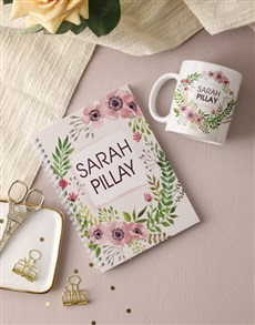 Picture of Personalised Floral Wonder Notebook!