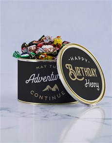 gifts: Personalised Adventures Chocolate Passions Tin!