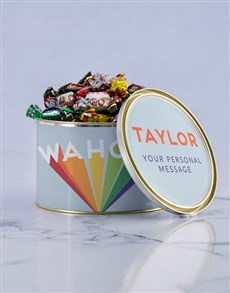 gifts: Personalised Congrats Chocolate Passions Tin!