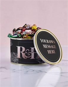 gifts: Personalised Anniversary Chocolate Passions Tin!