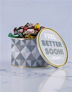gifts: Personalised Feel Better Chocolate Passions Tin!