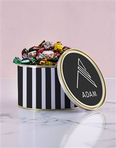 gifts: Personalised Monogram Chocolate Passions Tin!