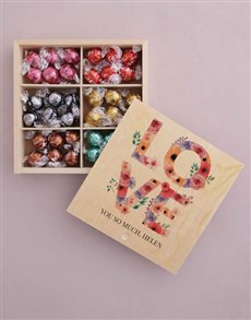 gifts: Personalised Love You So Much Box Of Chocs!