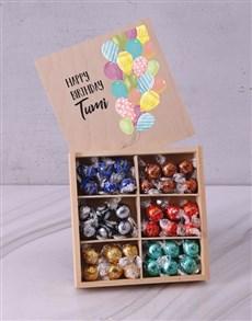 gifts: Personalised Birthday Box Of Chocs!