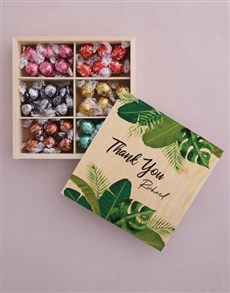 gifts: Personalised Thank You Box Of Chocs!