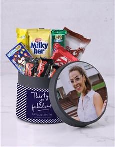 gifts: Photo Upload Birthday Chocolate Box!