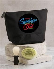 gifts: Personalised Super Hero Wash Bag!