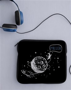 gifts: Personalised Neoprene Space Tablet Cover!