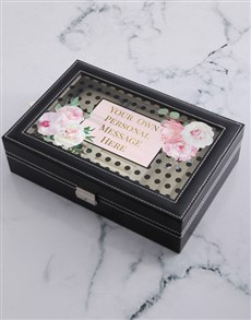 gifts: Personalised Message Jewellery Holder!