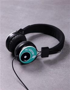 gifts: Personalised DJ Headphones!