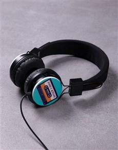 gifts: Personalised Mixtape Headphones!