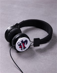 gifts: Personalised Love Panther Headphones!
