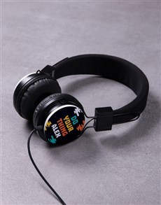 gifts: Personalised Do Your Thing Headphones!