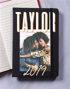 gifts: Personalised Photo Layout A5 Notebook!