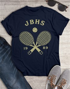 gifts: Personalised Tennis Team T Shirt!