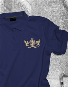 gifts: Personalised Coat of Arms Polo Shirt !