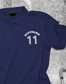 gifts: Personalised Sporty Polo Shirt!