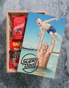 gifts: Personalised Superdad Printed Man Crate!