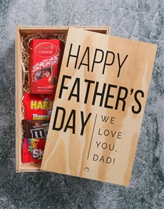 gifts: Personalised Fathers Day Printed Man Crate!
