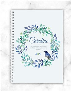 gifts: Personalised Friendship Notebook!