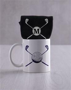 gifts: Personalised Golf Socks And Mug !