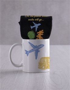 gifts: Personalised Adventure Socks And Mug!